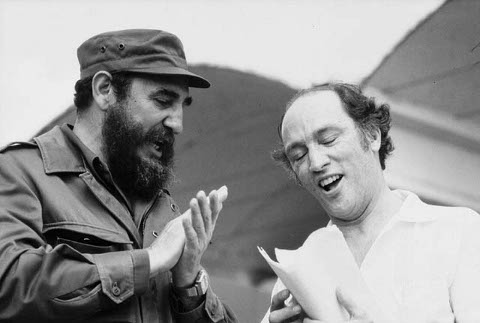 Castro and Trudeau in 1976