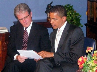 Coburn and Obama discuss S. 2590
