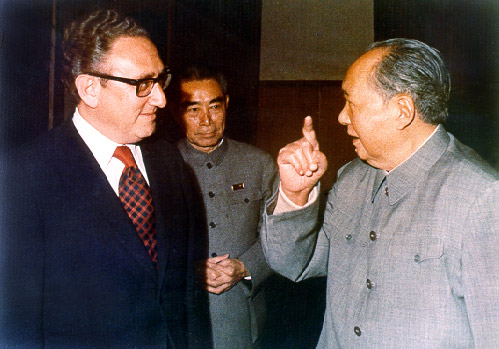 Kissinger with Mao