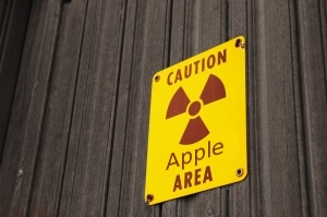 Radiation area with Apple