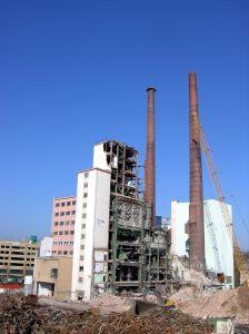 Factory ruines