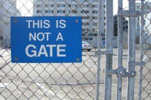 Not a gate