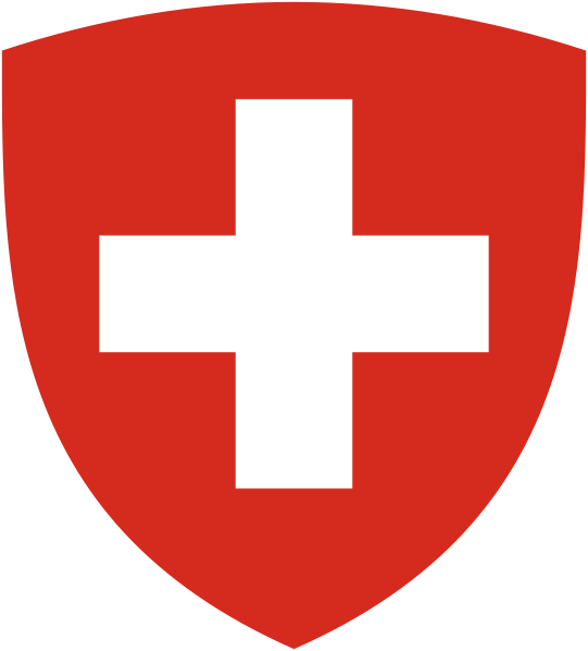 Coat of Arms of Switzerland (Pantone)