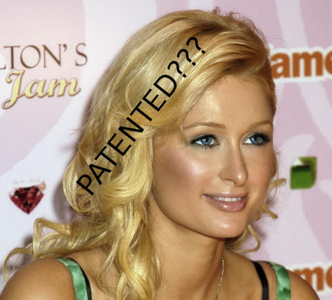 Paris Hilton patented hair
