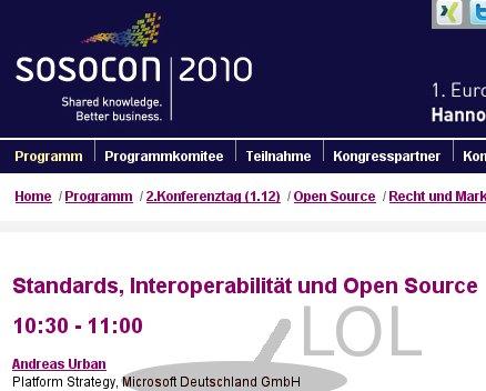 SOSOCON 2010