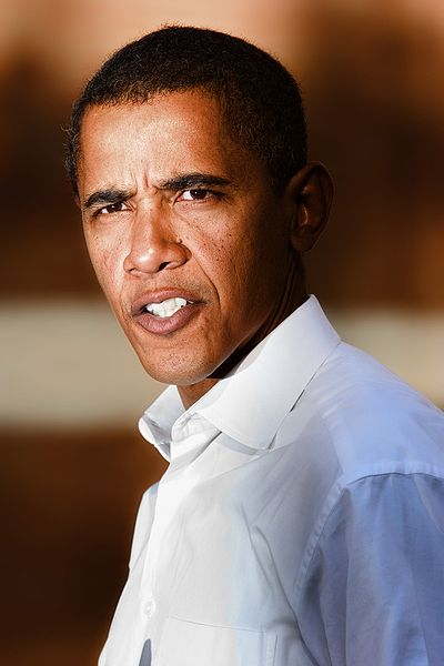 Obama Portrait from 2006