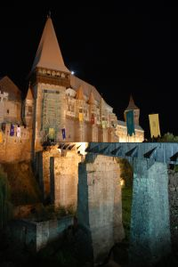 Corvins castle in Transylvania