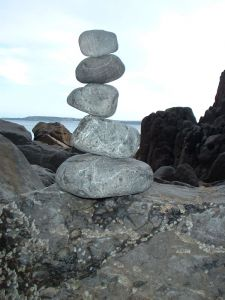 Rock scuplture