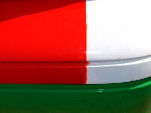 Taxi - Italy colours