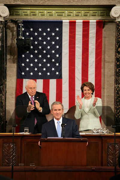 Bush, Cheney, and Pelosi