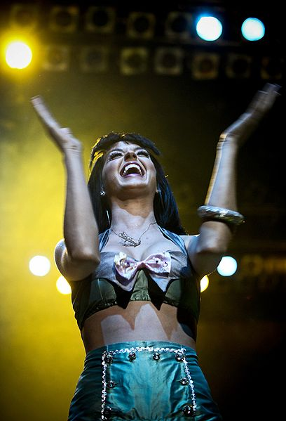Katy Perry at Campo Pequeno