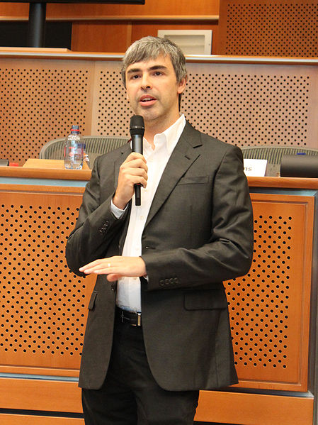 Larry Page in the European Parliament