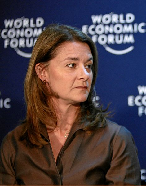 Melinda Gates, Davos 2009
