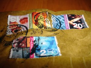 Stamps from Hong Kong