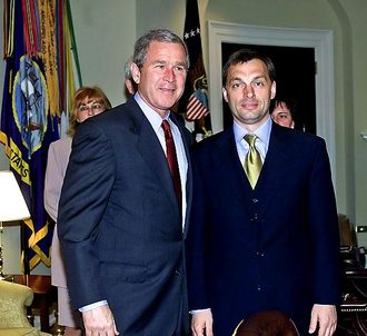 Orbán and Bush