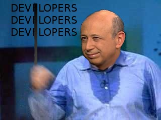 Blankfein developers