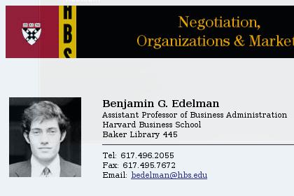 Ben Edelman