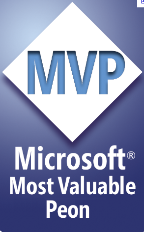 Microsoft MVP as Peon