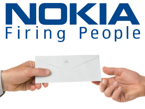 Nokia firing people