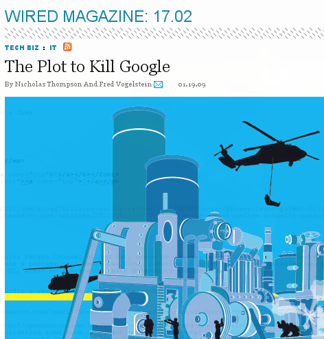 Plot to kill Google