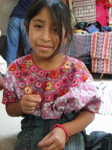 Girl in Antigua, Guatemala