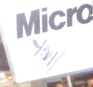 Microsoft heckled
