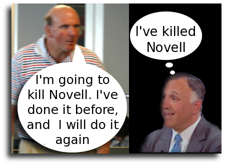 Novell's CEO and Ballmer
