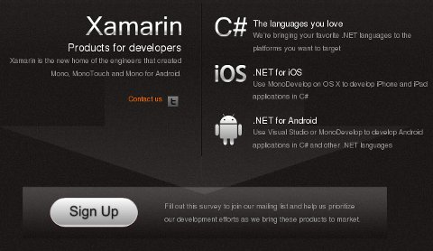 Xamarin site