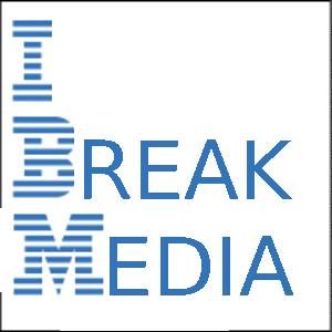 IBM logo on media
