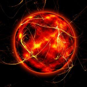 Dying sun nova