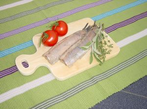 Herring and vegetable