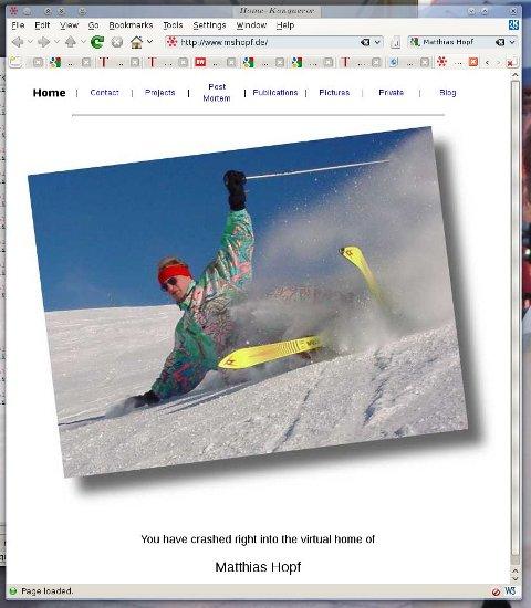 Matthias Hopf's homepage