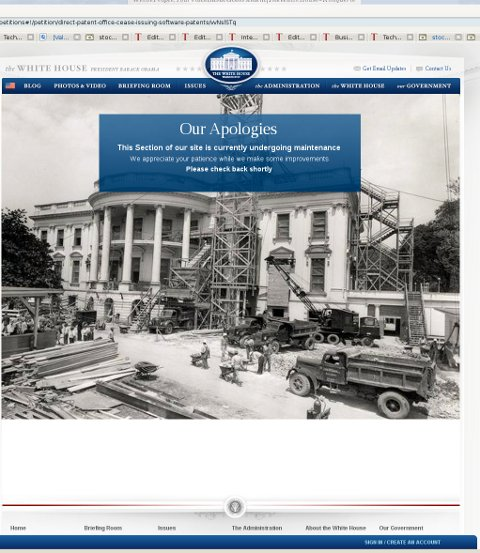 White House site