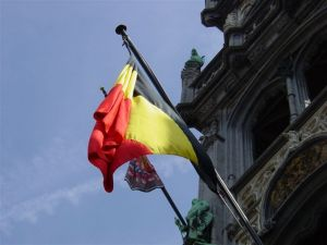Belgium and flags