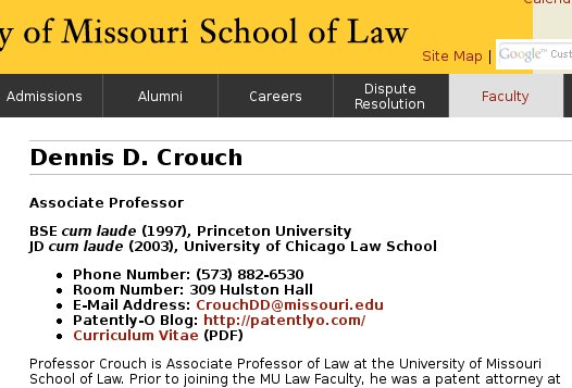 Dennis D. Crouch