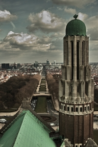 Koekelberg's basilica view