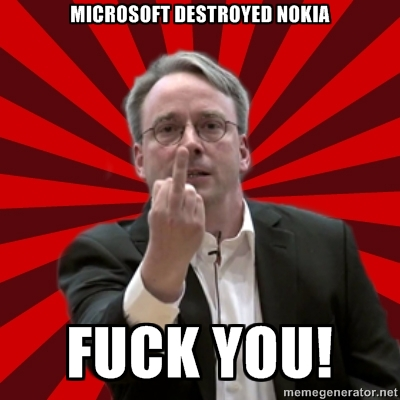 Torvalds on Nokia