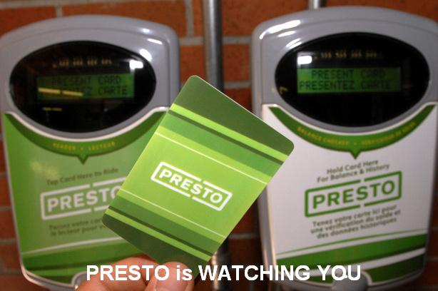 Presto is WATCHING YOU