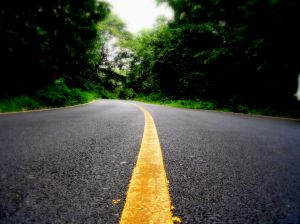 Road divided
