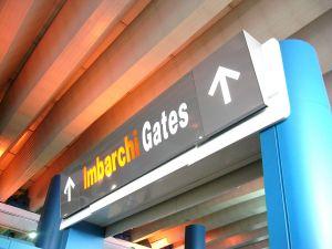 Gates for leaving
