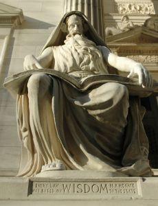 Statue of wisdom