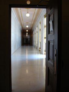 SCOTUS hallway