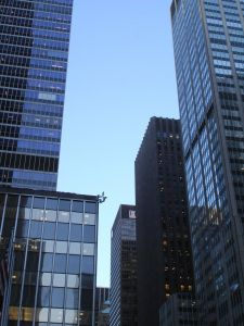 Skyscrapers near CBS