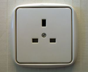 UK power socket
