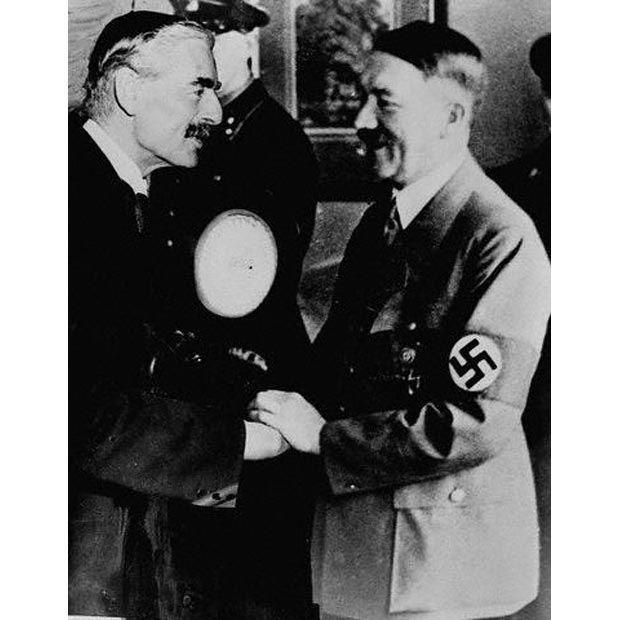 Chamberlain (GB) and Hitler