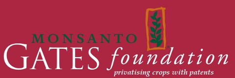 Monsanto Gates Foundation