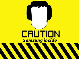 Samsung warning