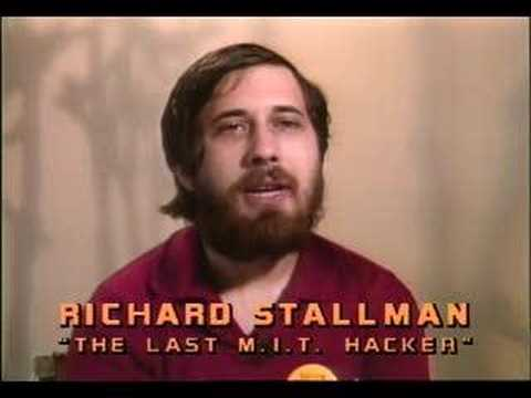 The young Stallman