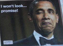 Obama won't look
