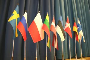 Flags of the Baltic Sea countries